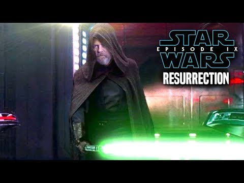 Star Wars! Luke Resurrected In Episode 9! The Shocking Way It Can Work & More!