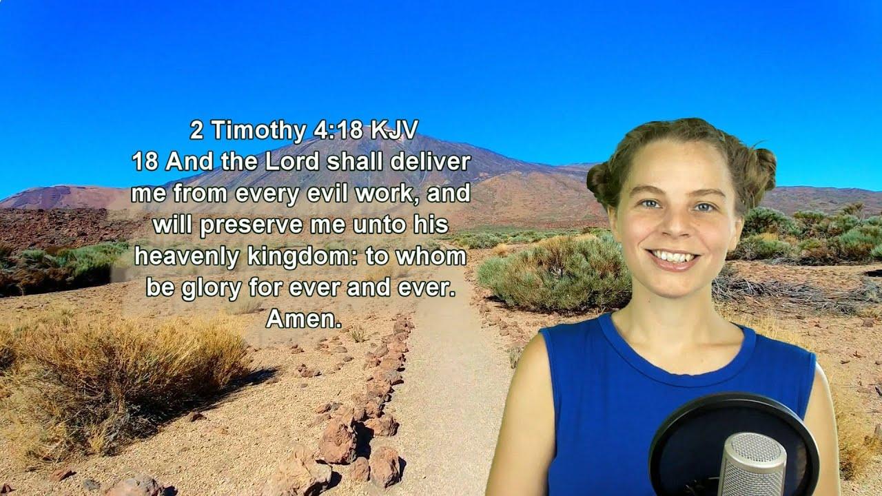 2 Timothy 4:18 KJV - Protection - Scripture Songs
