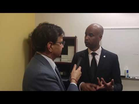 Immigration Minister of Canada Mr Ahmed D. Hussen interviewed by Mr Rajinder Saini of Parvasi Media