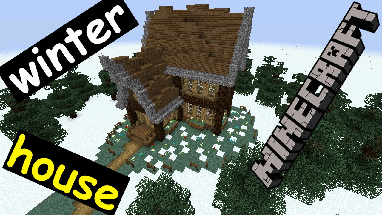 maxresdefault Winter Minecraft House Design on ponyville house, terraria winter house, cats winter house, cartoon winter house, fluttershy's house, the sims 3 winter house, pallet chicken house,