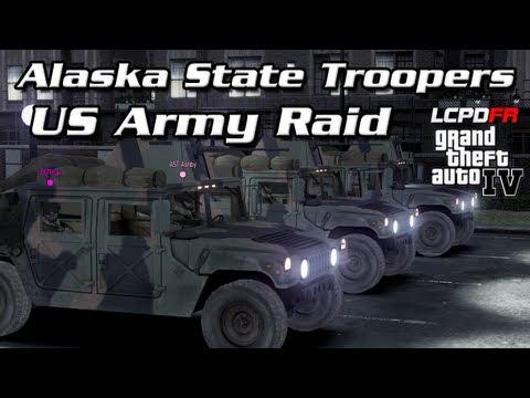 AST Clan GTA IV - AST Assist US Army Raid Terrorist Compound