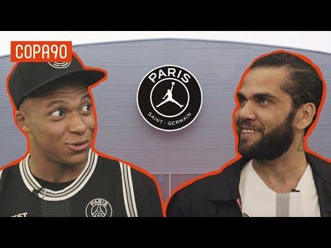 Mbappé and Dani Alves Reveal PSG Dressing Room Secrets