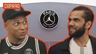 Mbappé and Dani Alves Reveal PSG Dressing Room Secrets