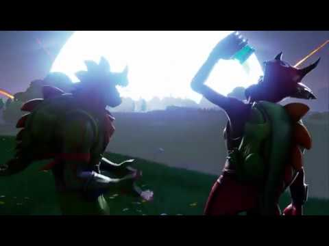 FORTNITE SEASON 4 - CINEMATIC TRAILER (COMET HITS DUSTY DEPOT!)
