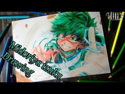 Drawing - Midoriya Izuku (Boku no hero academia)