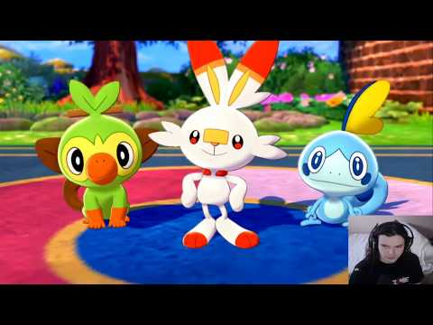 Pokemon Sword And Shield Playthrough Livestream Part 1