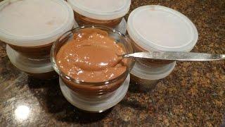 Low Carb (8) Chocolate Cream Pudding