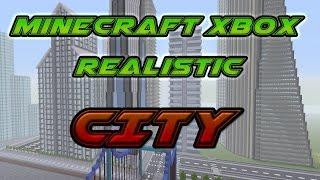 Minecraft Xbox - Modern City Episode 1 With Stark Tower