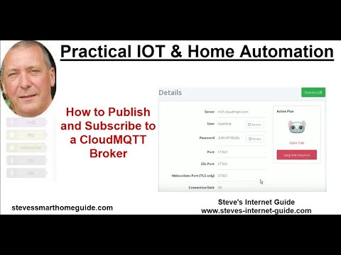 How to Publish and Subscribe to a CloudMQTT Broker