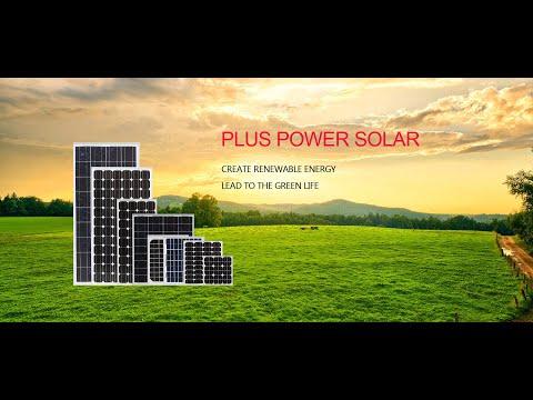 solar panels producing
