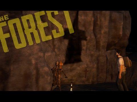 The Forest #6 - CAVERNA MAIS MISTERIOSA DO JOGO!!