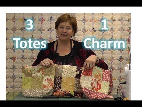 make-three-totes-/-purses-with-one-charm-pack!