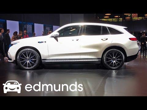 Inside Look at the 2020 Mercedes-Benz EQC at Paris Auto Show | Edmunds