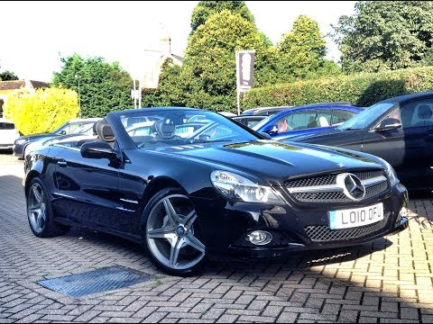 Mercedes-Benz SL350 Night Edition for Sale at CMC-Cars, Near Brighton, Sussex
