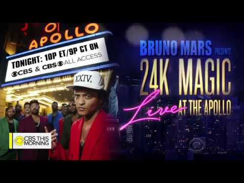 [LEGENDADO PT] Bruno Mars On Performing At The Iconic Apollo Theater CBS