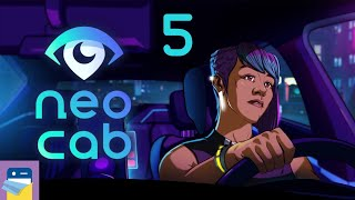 Neo Cab: Apple Arcade iPad Gameplay Walkthrough Part 5 (by Chance Agency / Fellow Traveler)