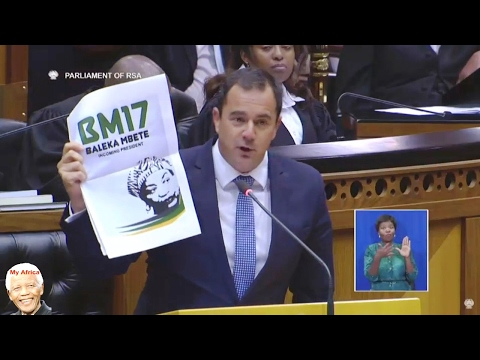 "DA John Steenhuisen ""Attacks"" Jacob Zuma 