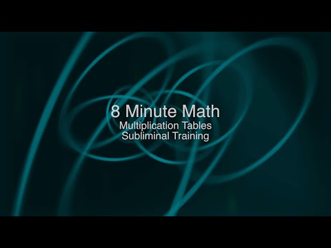 8 Minute Multiplication - Subliminal Training