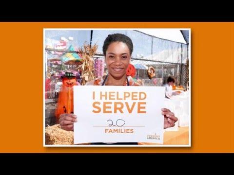 Thank You Volunteers | Feeding America