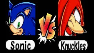 Sonic Pinball Party (1080p/60FPS) part 1 Sonic vs Knuckles