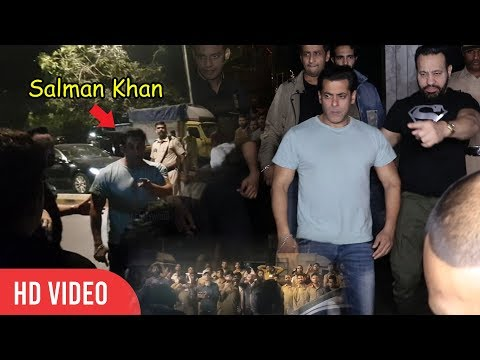 Salman Khan #Love For Fans | WARNS NOT TO FOLLOW | Zaheer Iqbal Birthday Party
