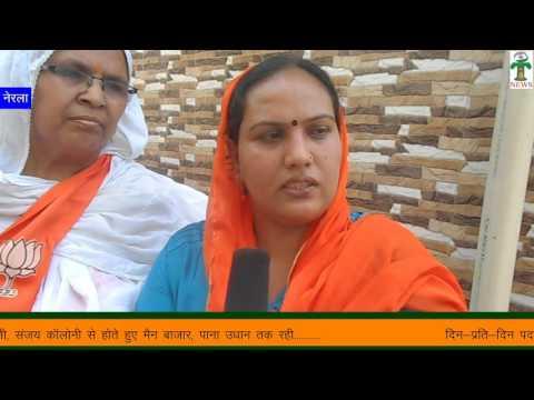 सविता नरेश खत्री ने की शिव मंदिर कॉलोनी में पद्यात्रा