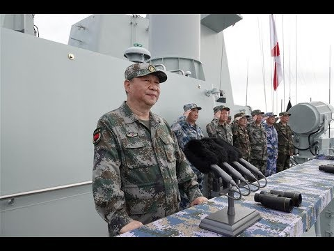 Xi Jinping reviews Chinese navy in South China Sea | CCTV English