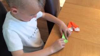 How to make a paper stunt plane