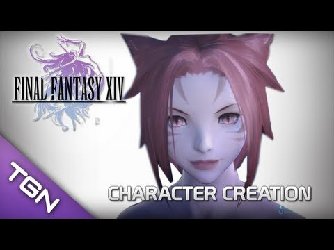 Final Fantasy 14 Online A Realm Reborn : Character Creation & Benchmarking