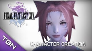 14 Final Fantasy Bir Bölge Yeniden Doğmuş Çevrimiçi : Karakter Yaratma & Kıyaslama