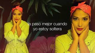 FARINA - MEJOR ESTAR SOLA - [ Lyric Video ]