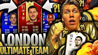 ULTIMATE TEAM med SPILLERE kun fra ARSENAL, TOTTENHAM & CHELSEA ⚔️💥 *LONDON ONLY CHALLENGE*