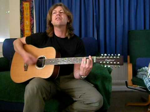 Guitar 12 string guitar chords : Space Oddity (Acoustic cover 12 string Guitar) - YouTube