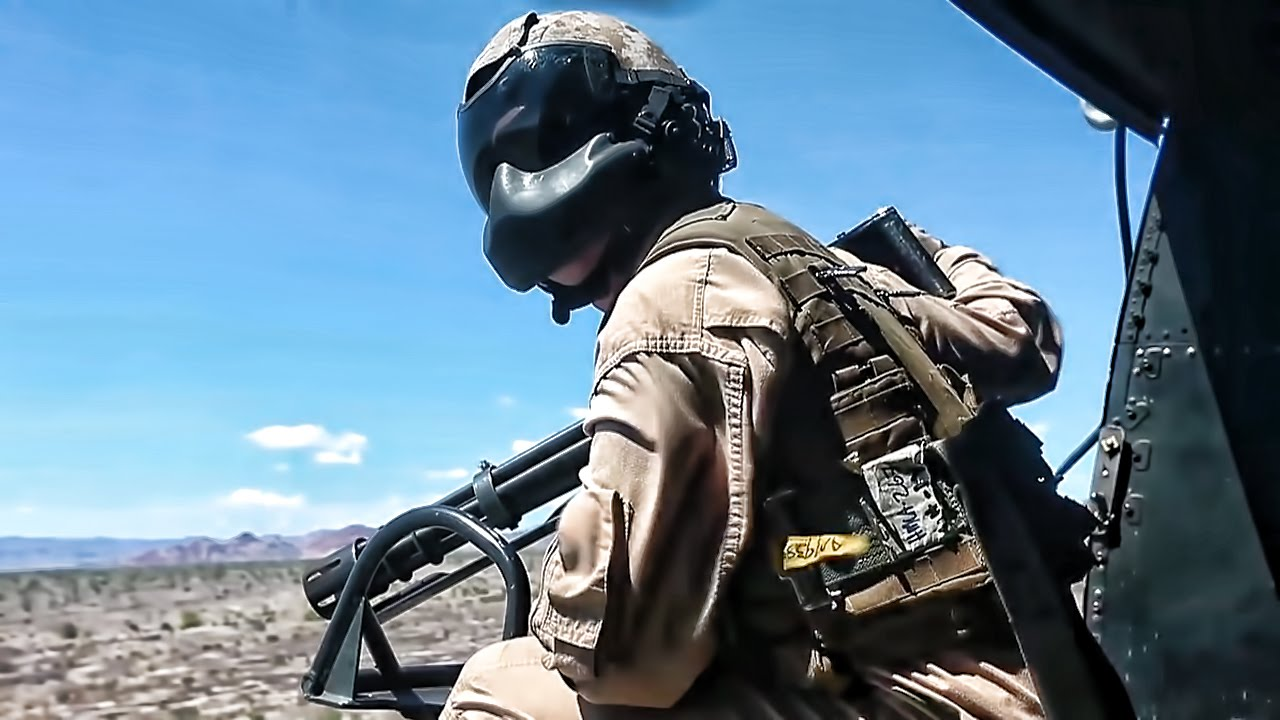 & Door Gunner Firepower \u2022 GAU-21 .50 Cal \u0026 GAU-17 Minigun - YouTube