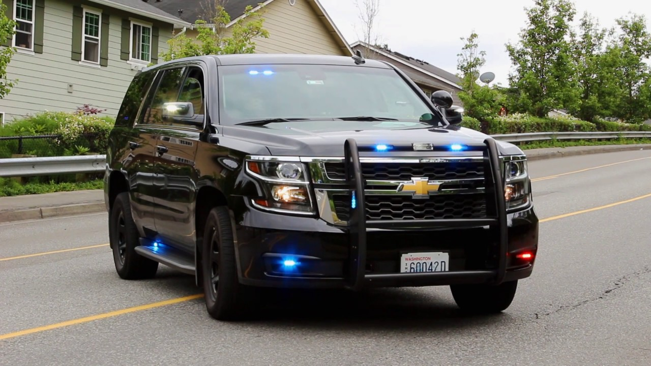 Bothell PD's 2016 Unmarked Chevrolet Tahoe PPV Slicktop ...