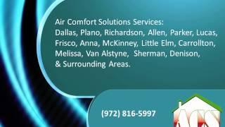 Video Air Comfort Solutions - Air Conditioning & Heating Repair Allen TX download MP3, 3GP, MP4, WEBM, AVI, FLV Agustus 2018