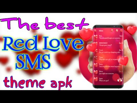 The Best Love Sms Theme For Android Apk.