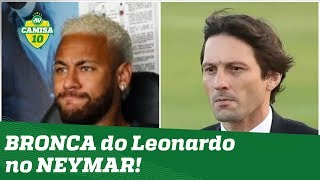 ESQUENTOU! PSG tem EMBATE Leonardo x Neymar no vestiário! Saiba detalhes!