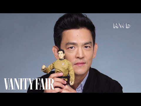Star Trek's John Cho Unboxes Sulu  Vanity Fair