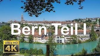Rundgang durch die Altstadt von Bern in 4K ( Teil 1 )