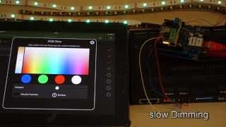 Raspberry Pi DMX Controller - YouTube