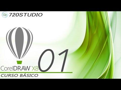 Curso Básico Corel Draw X8 Parte 01 - Tutorial para principiantes - En Español