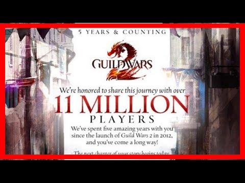 Breaking News | 5 years, 2 expansions, 11 million players. this guild wars 2 infographic lays out t