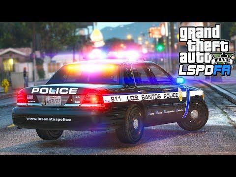 GTA 5 - LSPDFR Ep468 - Night Time Police Patrol!!