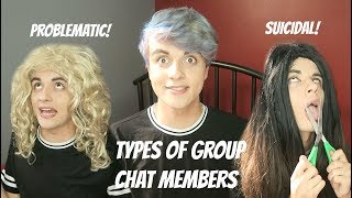 TYPES OF STAN GROUP CHAT MEMBERS
