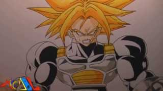 Dibujando a: Trunks SSJ2