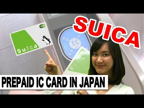 Japan Travel Tips : 3 Must Know about Suica (Pre-paid IC Card)