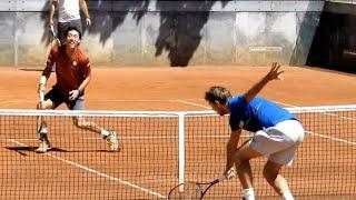【テニス】錦織圭のワウリンカとの練習動画です。*2018年です 続きは動...