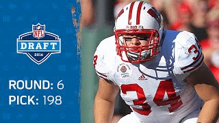 J.J. Watt's Brother Derek Watt (FB) | Pick 198: San Diego Chargers | 2016 NFL Draft