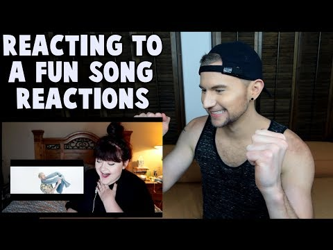 REACTING TO PEOPLE REACTING TO A FUN SONG
